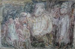 Путь. Холст, масло. 70х108 см. 1986