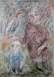 Любовь к детям. Холст, масло. 100х78 см. 1985