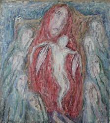 Богоматерь. Холст, масло. 75х67 см. 1986