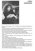 Lidia Shulgina. Biography. Exhibitions in Germany.